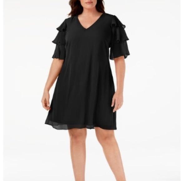 🆕 Calvin Klein Sz 22 Black Dress